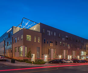 Building, Benson Lights Apartments