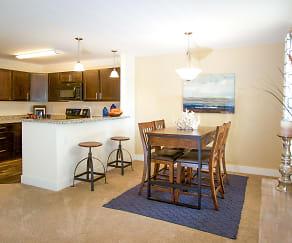 Dining Room, Aspen Apartments