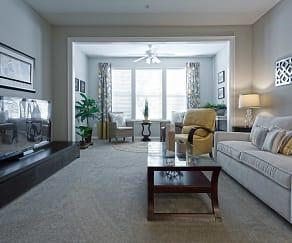 Living Room, The Vinings at Wildwood