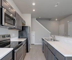 Kitchen, White Hawk Townhomes