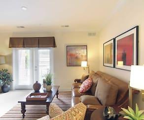 Living Room, Shorehaven Apartments