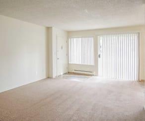 Living Room, Park Ballinger Apartments
