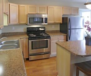 Kitchen, Kendall Square Apartments