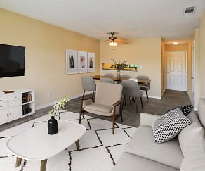 Spacious Living and Dining Areas, Nantucket Harbor
