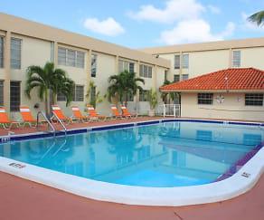 Pool, Las Brisas Gardens