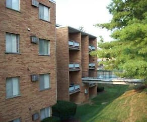 Building, Field Terrace Apartments