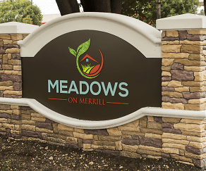 Community Signage, Meadows on Merrill