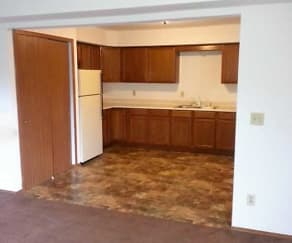 Kitchen, Slinger Apartments