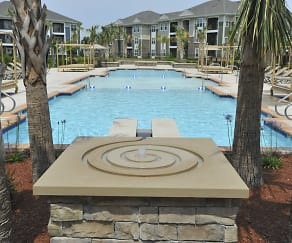 Pool, Spring Water Apartments