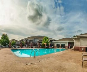 Pool, Foothills Apartments