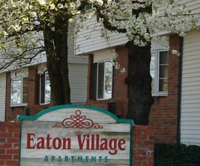 Community Signage, Eaton Village Apartments