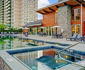 Pool, The Grand Cherry Hill Apartment Homes