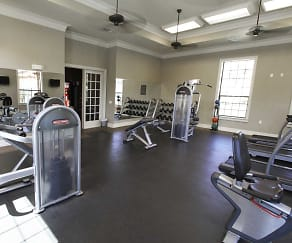 Fitness Weight Room, Mansions At Ivy Lakes