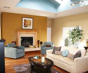 Living Room, Greens at Cedar Chase