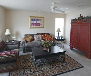 Living Room, The Residences of Diamond Hill