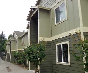 New Paint - Green color scheme, Evergreen Village