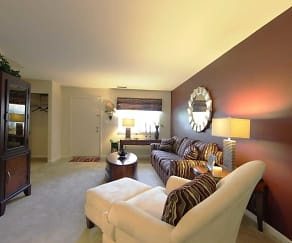 Living Room, McDonogh Village Apartments & Townhomes