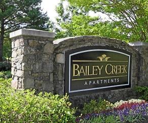 Community Signage, Bailey Creek Apartments
