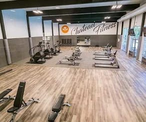 Fitness Weight Room, Chateau Trailview