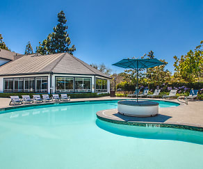 Pool, Windrift Apartments