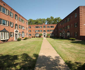 Regency Court, Shadyside Apartments
