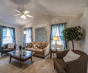 Living Room, Candlewood Apartments