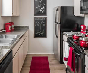 Kitchen, The London - Per Bed Lease