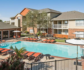 Pool, The Parker Apartment Homes