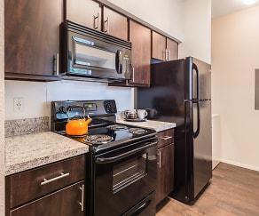 Kitchen, Bellevue at Clear Creek