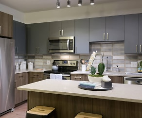 Kitchen, Platform Apartments