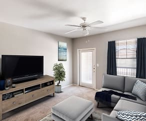 Living Room, Signature at Trinity River