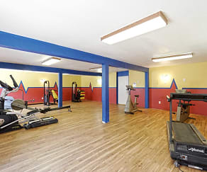 Fitness Weight Room, Mountain Ridge Apartment Homes