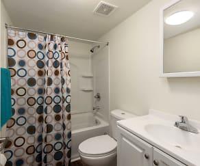 Bathroom, Metro Apartments at Wood River