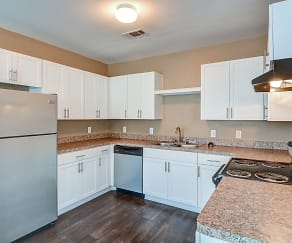 Kitchen, Parkland at West Oaks