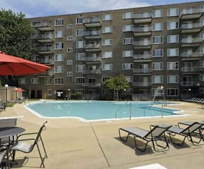 Pool, Serrano Apartments