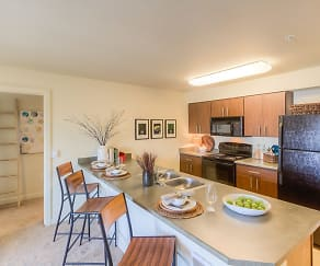 Kitchen, Polaris Apartments