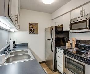 Kitchen, Nori Apartments