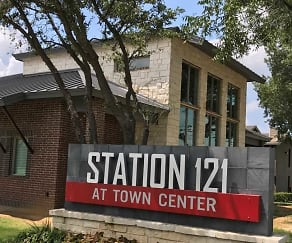 Community Signage, Station 121 At Town Center