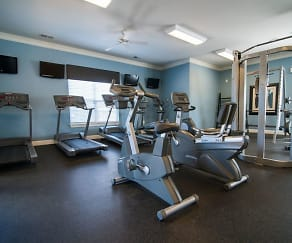 Fitness Weight Room, Legacy At Twin Oaks