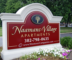 Community Signage, Naamans Village Apartments
