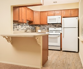Kitchen, Colebrook Apartments