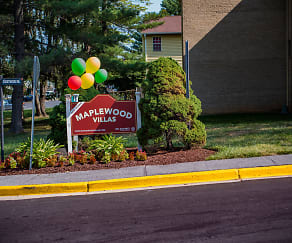 Community Signage, Maplewood Villas