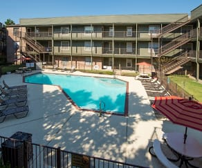 Pool, The Gardens Apartments