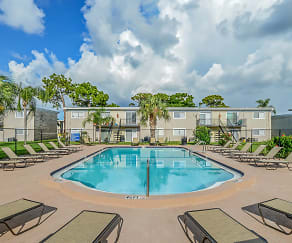 Pool, Northridge Apartments