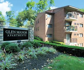 Community Signage, Glen Manor Apartments
