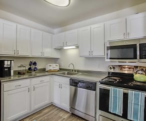 Kitchen, Arbor Landings Apartments