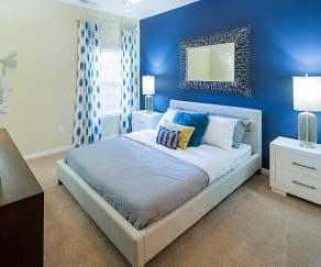 Bedroom, The Belvedere Apartments