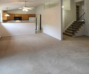 Living Room, Brook Hill Village Apartments