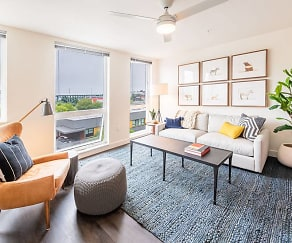 Living Room, Muir Apartments