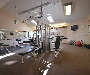 Fitness Weight Room, Stafford Pointe
